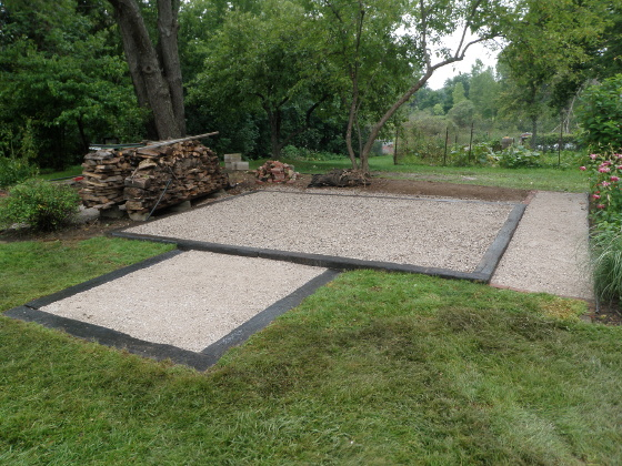 12x16 Foot Shed Foundation? - Building & Construction